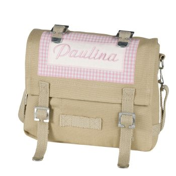 Tasche mit Namen personalisiert - klein - viele Farbkombinationen möglich