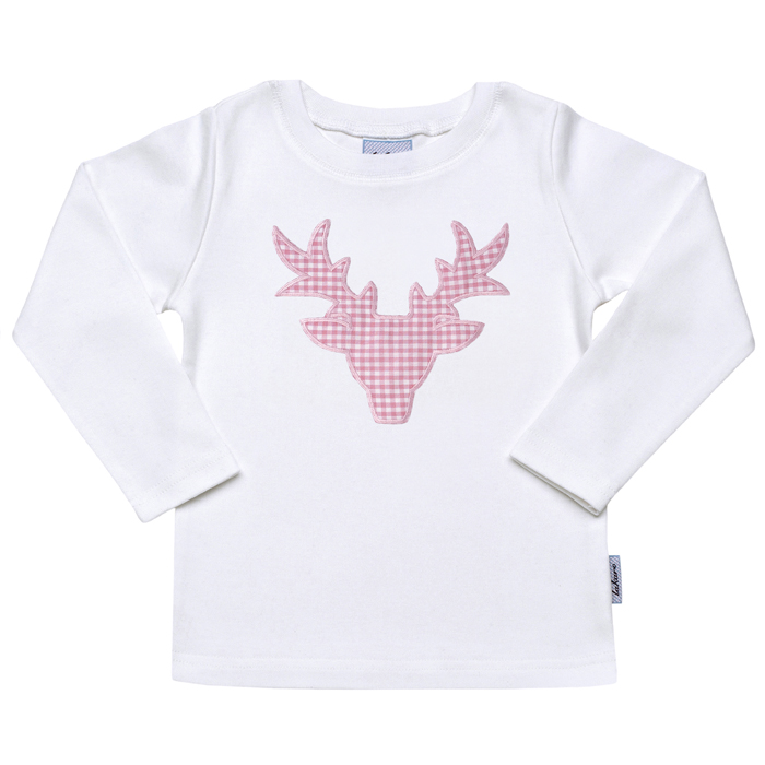 X - Mas Shirt  Sonderedition mit Hirschmotiv rosa