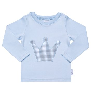 "Shirt "" Vichy - Motiv "" mit Namen"